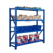 Blue Light-duty Shelves - Light Duty Rack