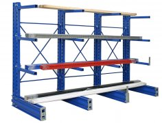 Single Side Industrial Cantilever Rack - Cantilever