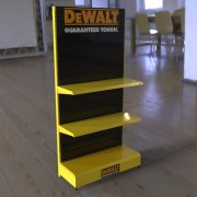 Customized Hardware Display Stand