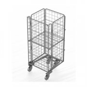 Double-deck storage cage
