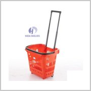 Double Trolley Shopping Cart