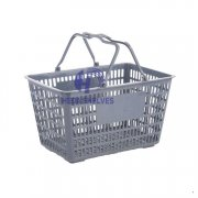 Plastic ear supermarket shopping basket