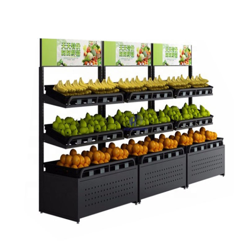 Green vegetable fruit rack